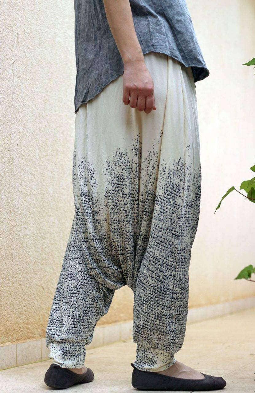 свободные афгани из натуральной ткани