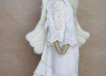 "Кукла в стиле бохо ""Тильда-Ангел"""