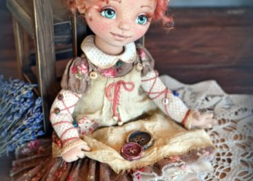 Куклы в стиле бохо