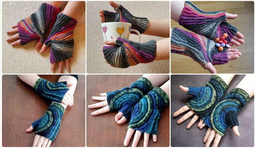 рукавицы вязание
