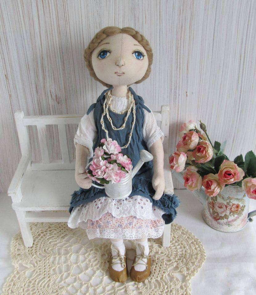 Кукла бохо стиле своими руками