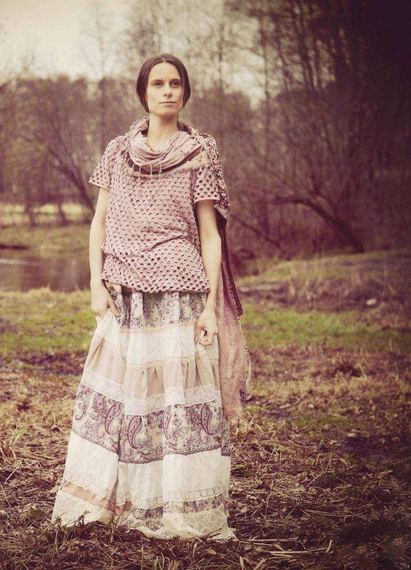 Выкройка платья и туники в стиле