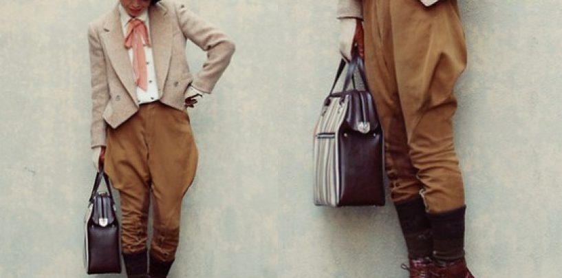 Выбор моделей женских брюк и простая выкройка галифе