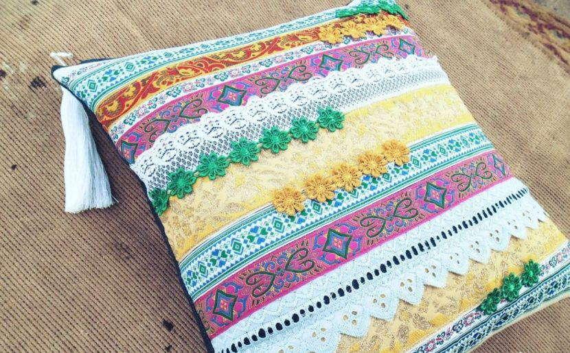 Этно подушка