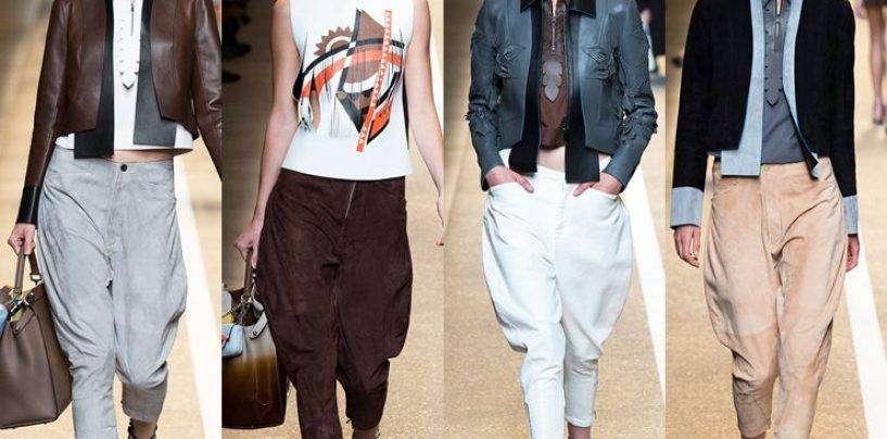 Роль брюк галифе в современной моде