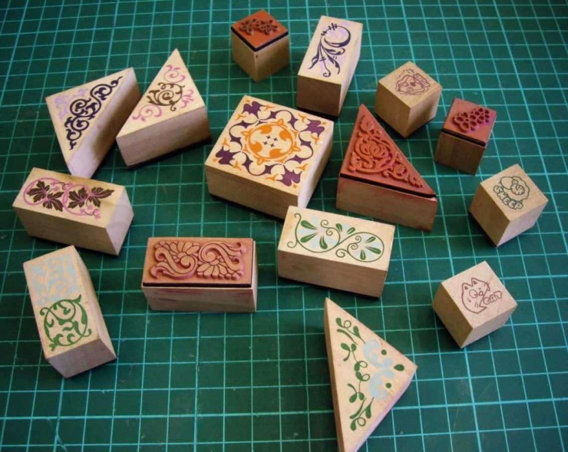Декор и шаблоны для скрапбукинга