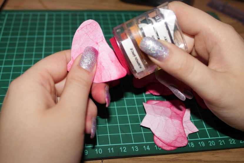 Окраска лепестков