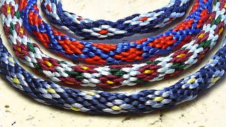 Плетение круглых фенечек