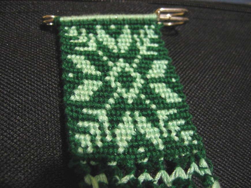 Прямое плетение