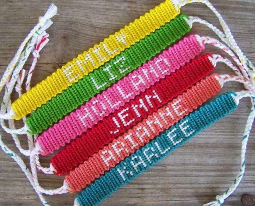 Плетения фенечек