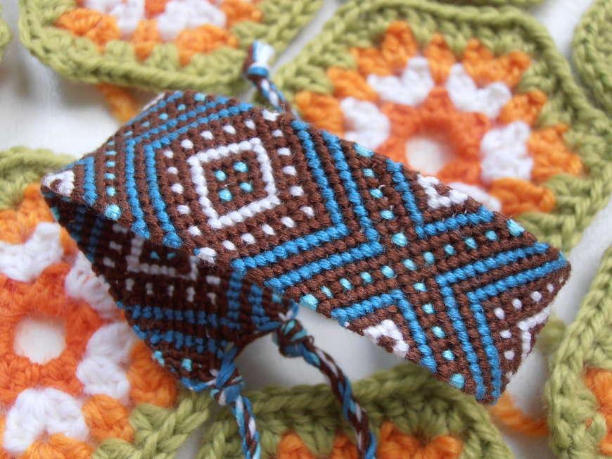 Фенечки простые схемы косого плетения