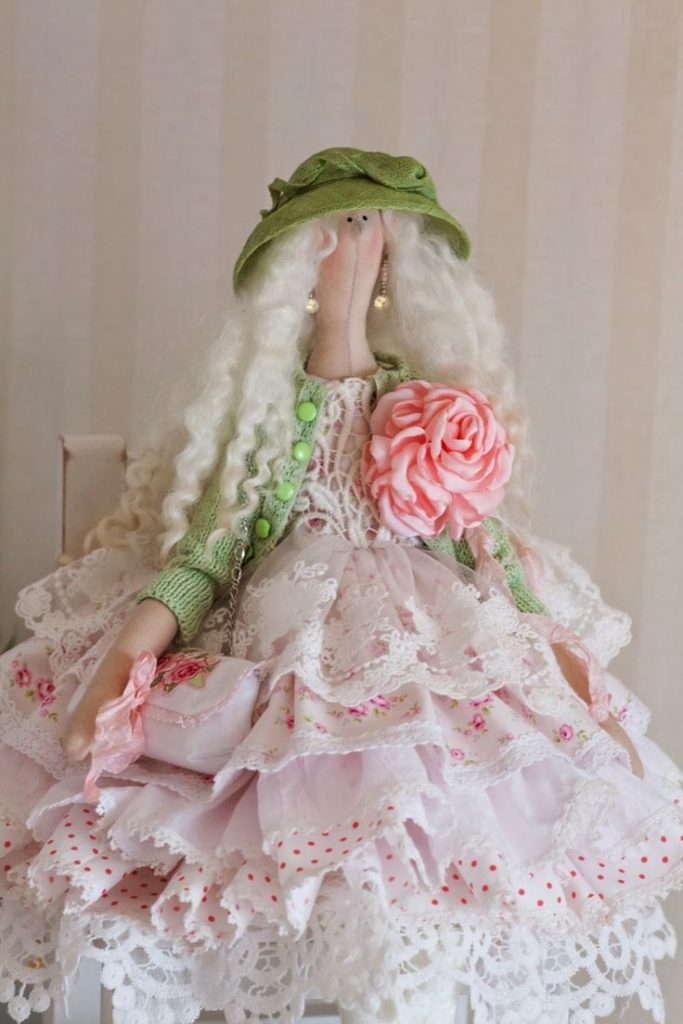 кукла шебби-шик