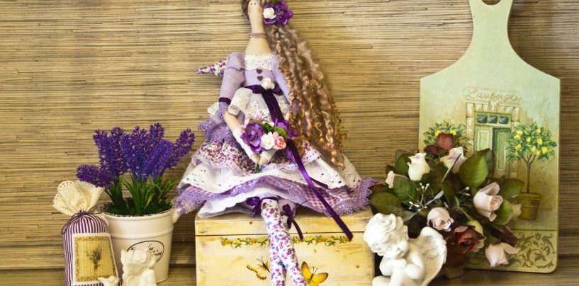 Нежные красавицы тильды в самобытном стиле бохо, романтичном шебби-шик и прованс
