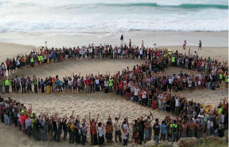 хиппи протест