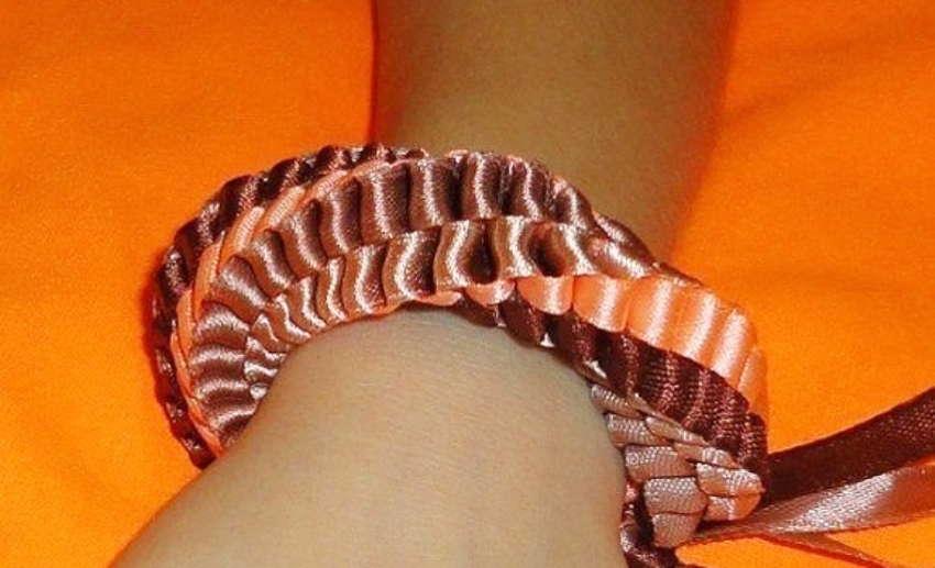 Объёмный браслет