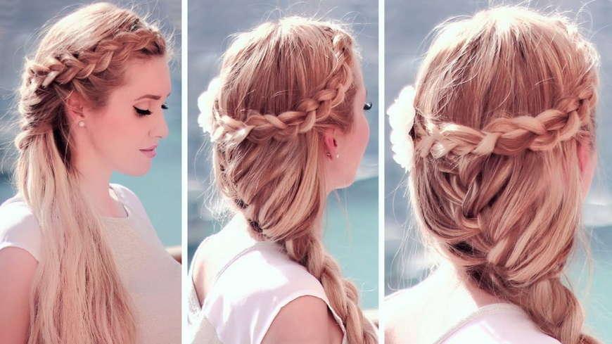 плетенная коса