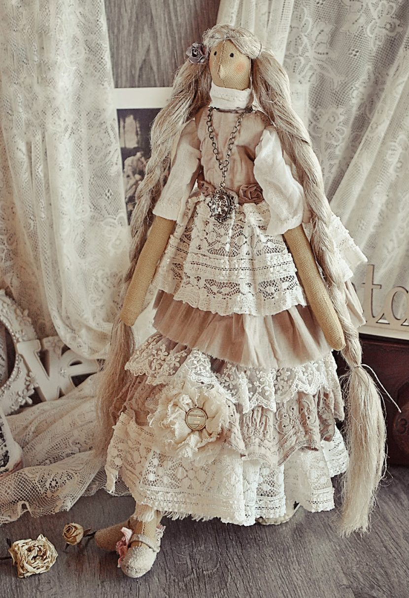 Как сшить платье бохо тильде