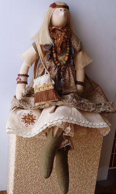 Хиппи кукла