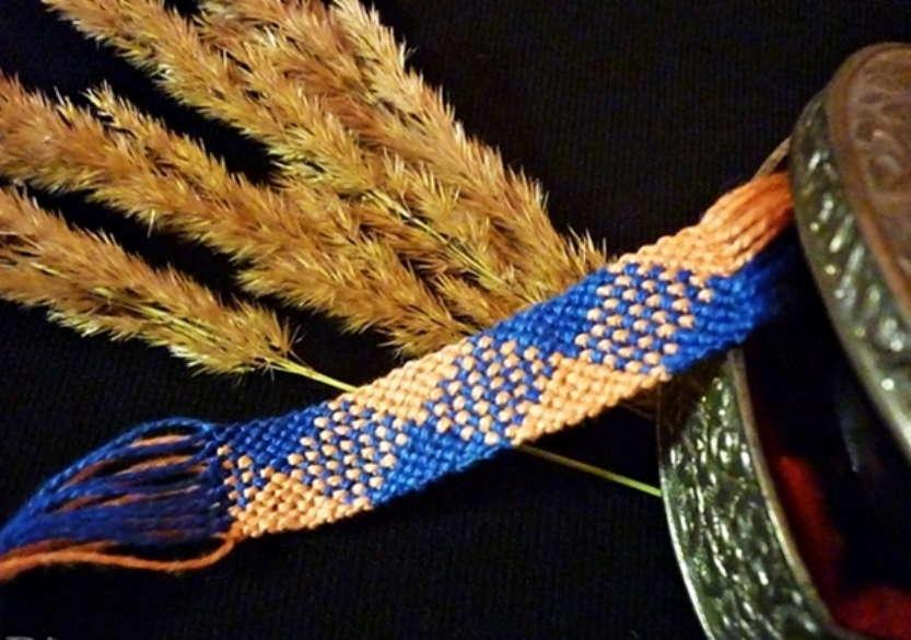 Двухцветные браслет