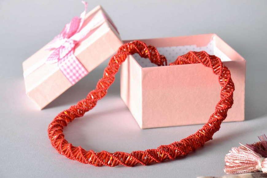 плетение жгута