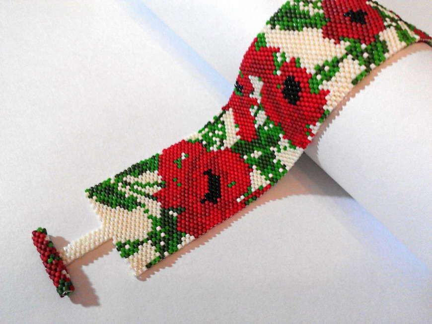 маковый браслет