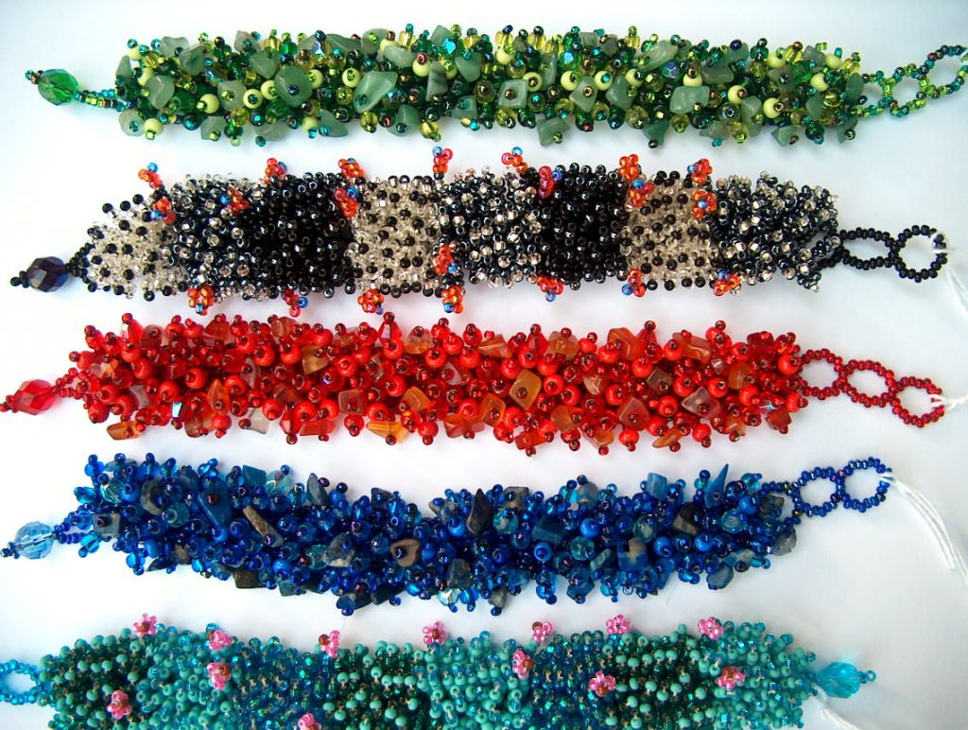 ажурные браслеты