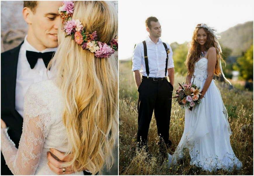 свадьба эко стиля