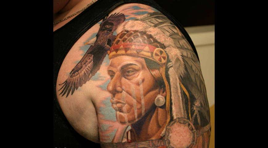 Индейские татуировки значение фото