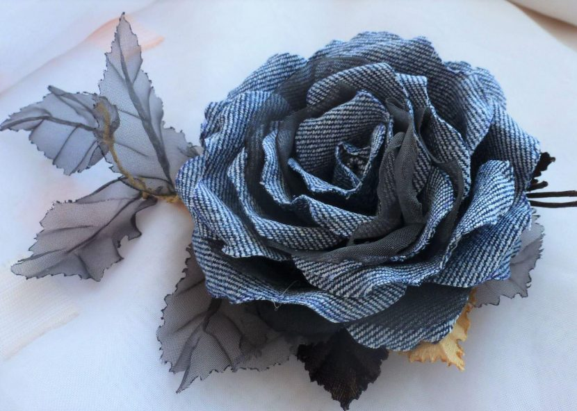 делаем розу