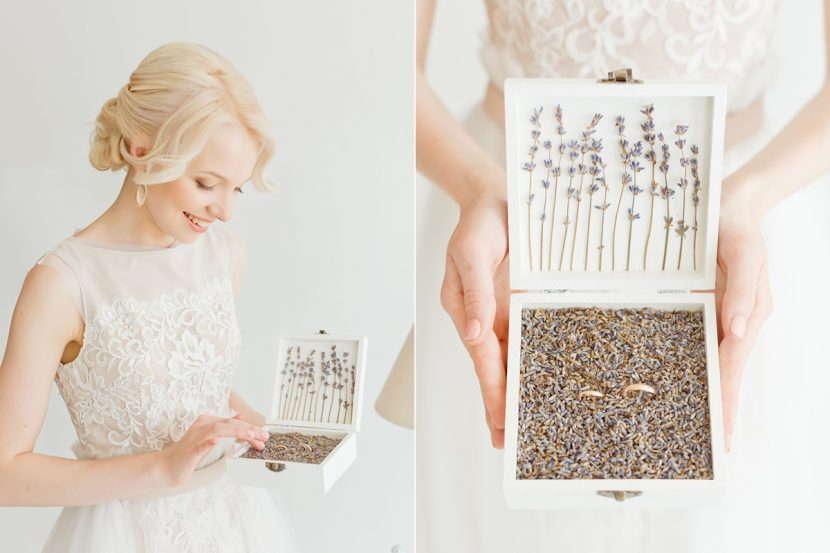 невеста с кольцами