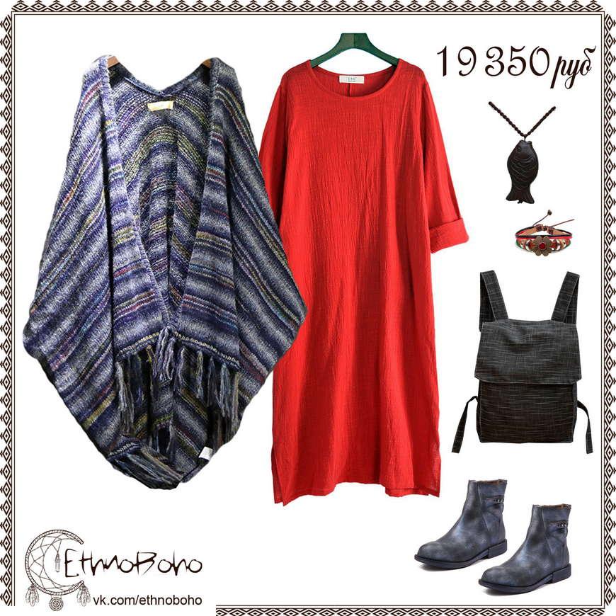 одежда платье красное
