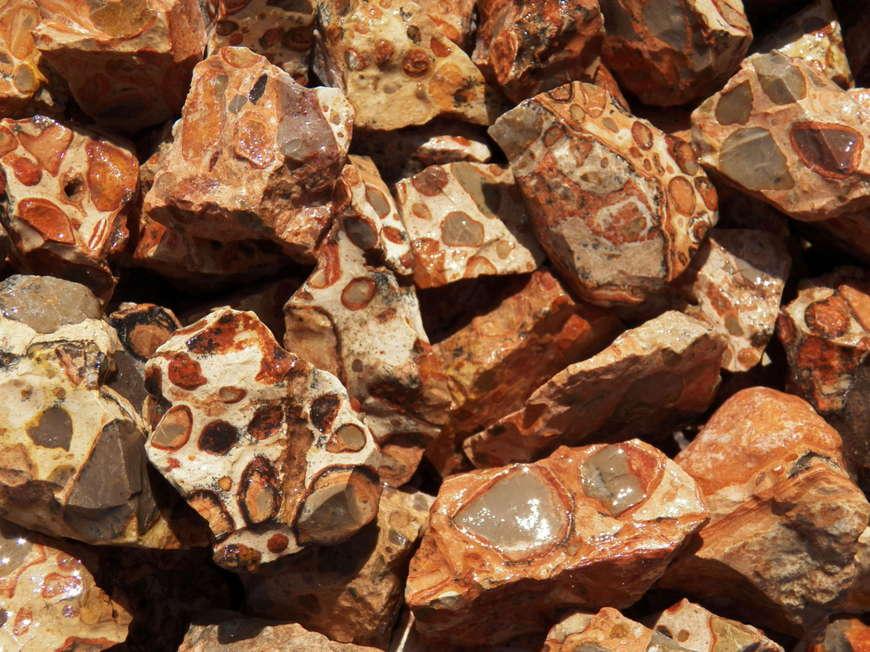 яшма происхождение минерала
